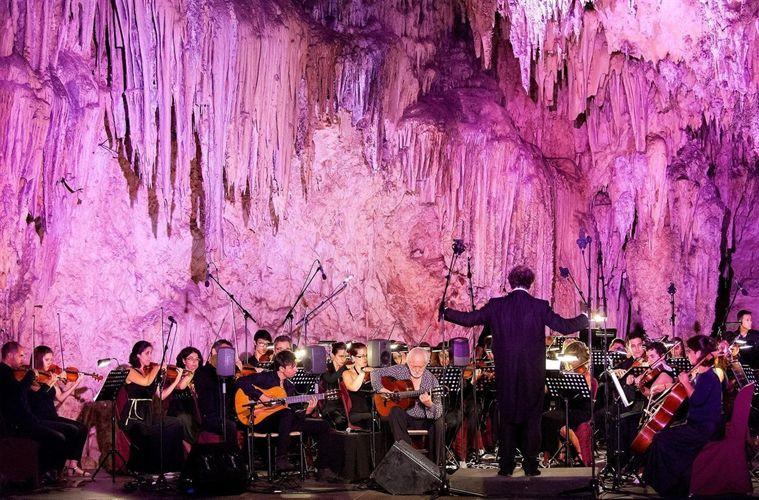Manolo Sanlúcar - Foto Fundación Cueva de Nerja