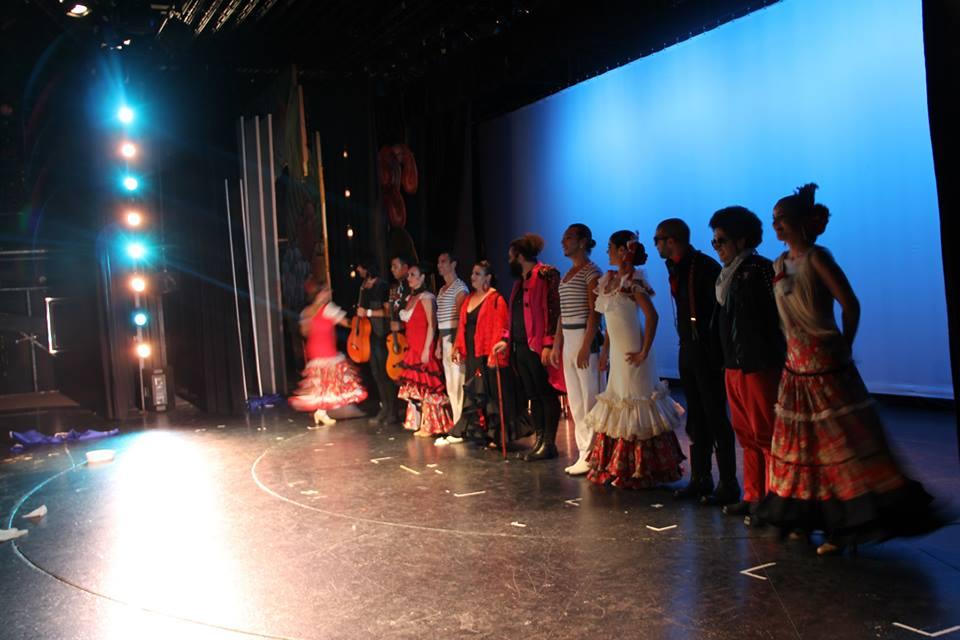 El Sevilla y el ballet flamenco de Juana La Coja en Benalmádena