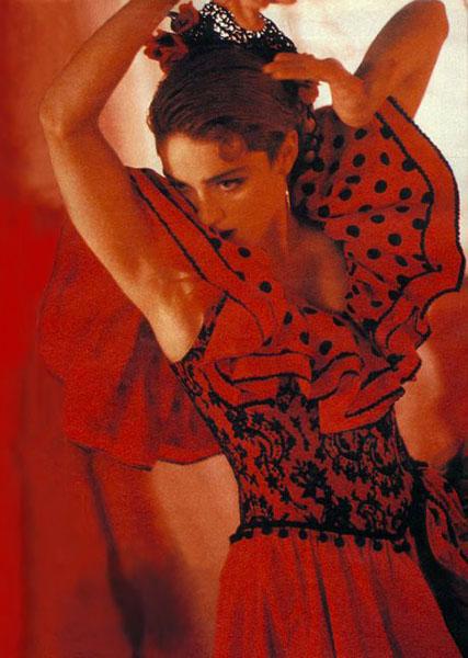 Madonna flamenca