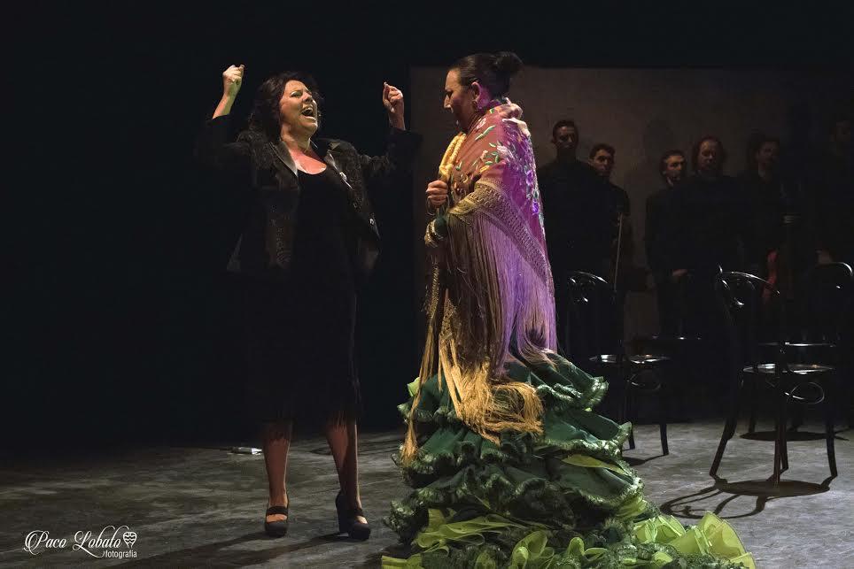 Virginia Gámez y La Lupi