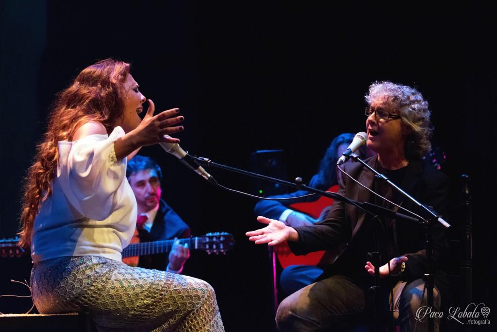 Virginia Gámez y Mayte Martín