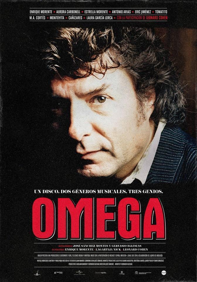 'Omega', la película sobre el disco homónimo de Morente, también se proyecta.