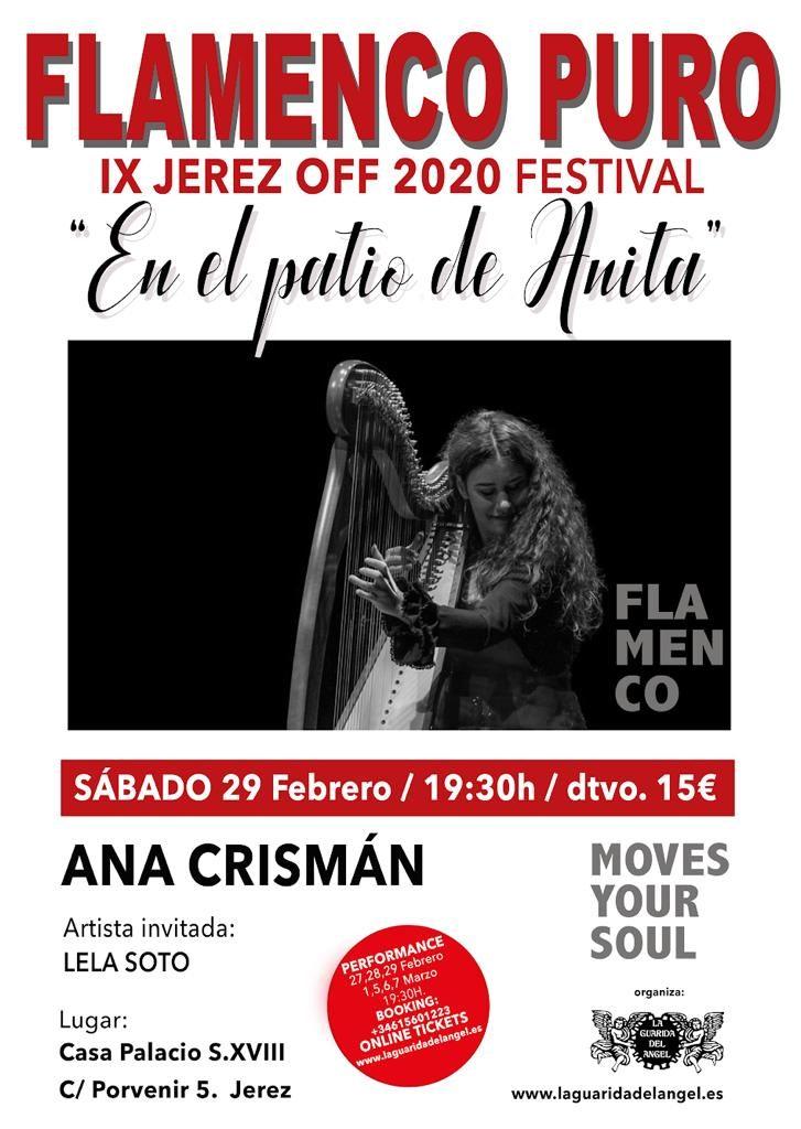Cartel Ana Crisman