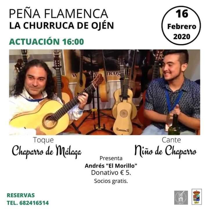 Cartel Los Chaparro Peña La Churruca
