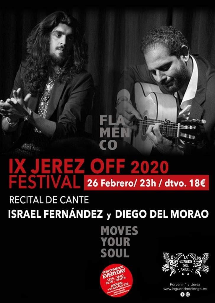 Cartel Israel Fernández y Diego del Morao