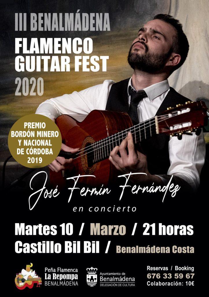 Cartel José Fermín Fernández Benalmádena