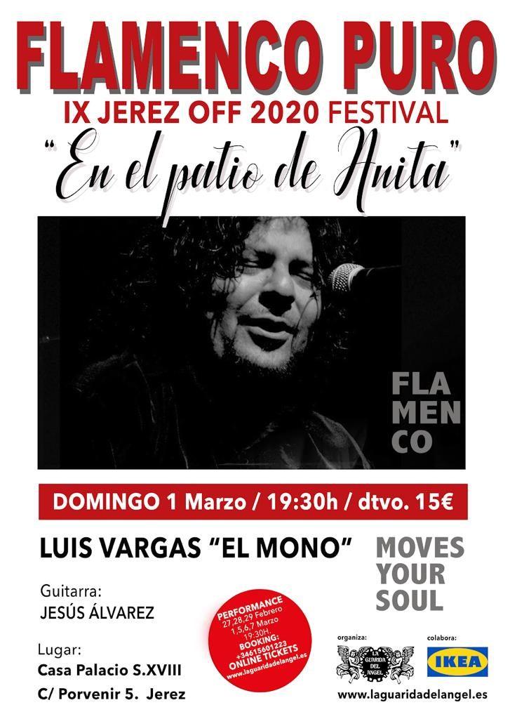 Cartel Luis Vargas El Mono