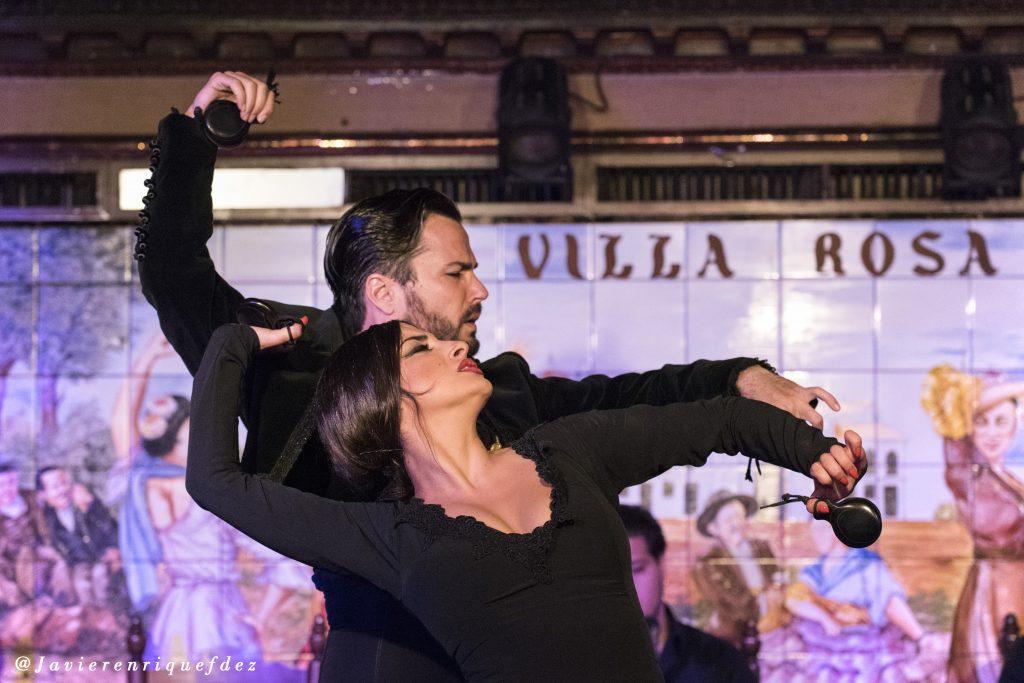 Baile a dos Tablao Villa Rosa