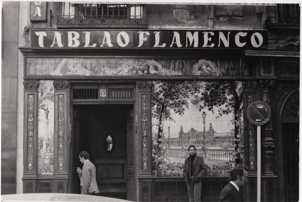 El Tablao Villa Rosa, en los años 70.
