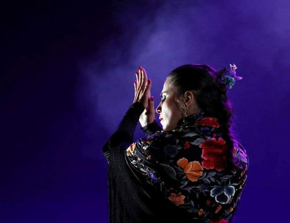 La bailaora malagueña Carmen González