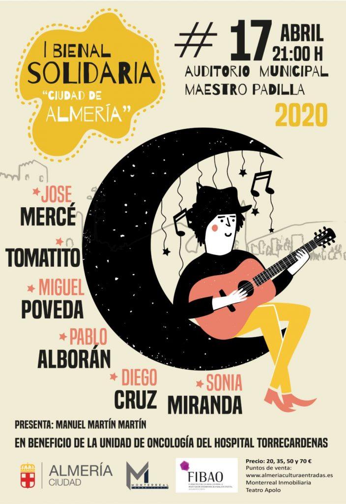 Cartel I Bienal Solidaria de Almería