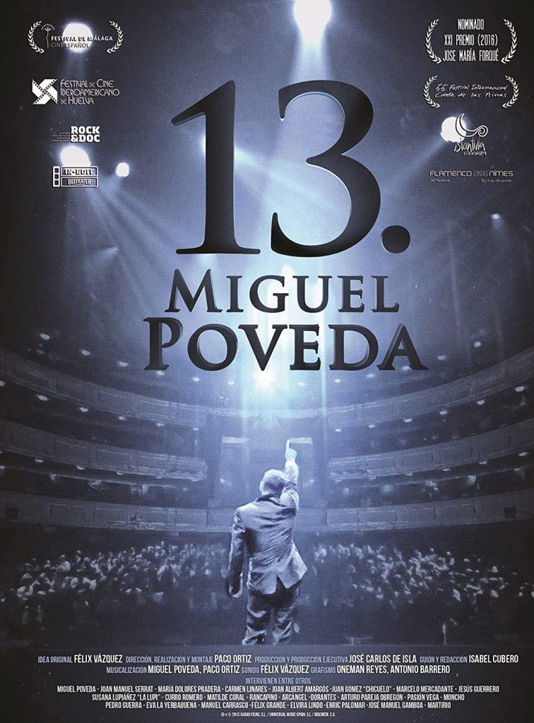 Cartel Documental Miguel Poveda