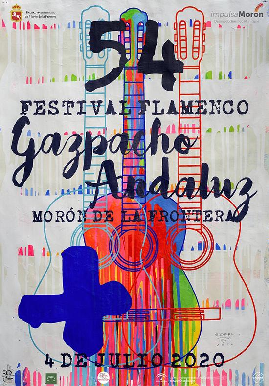 Cartel LIV Gazpacho Andaluz de Morón