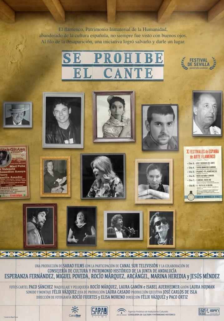 Cartel Documental Se prohíbe el cante