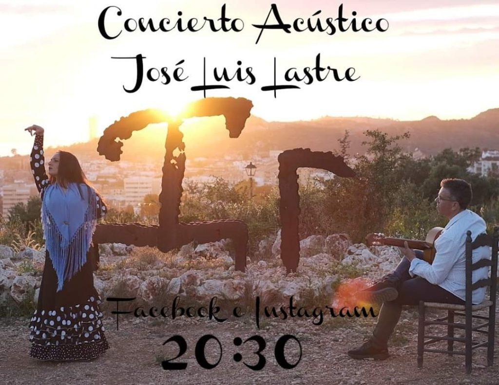 Cartel acústico José Luis Lastre
