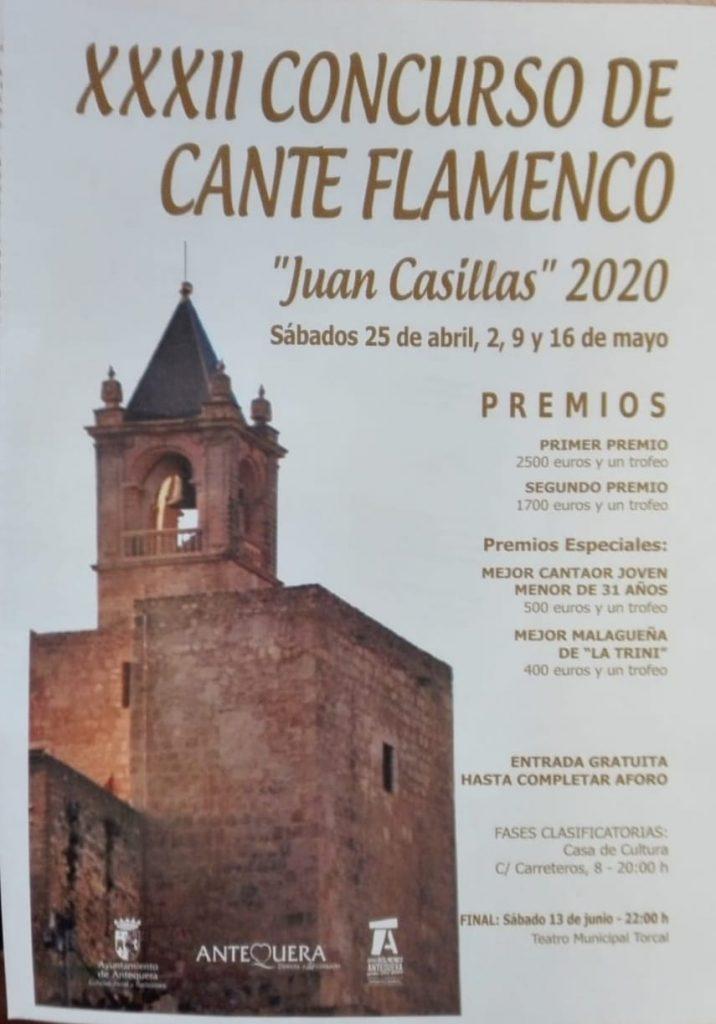 Cartel XXXII Concurso de Antequera