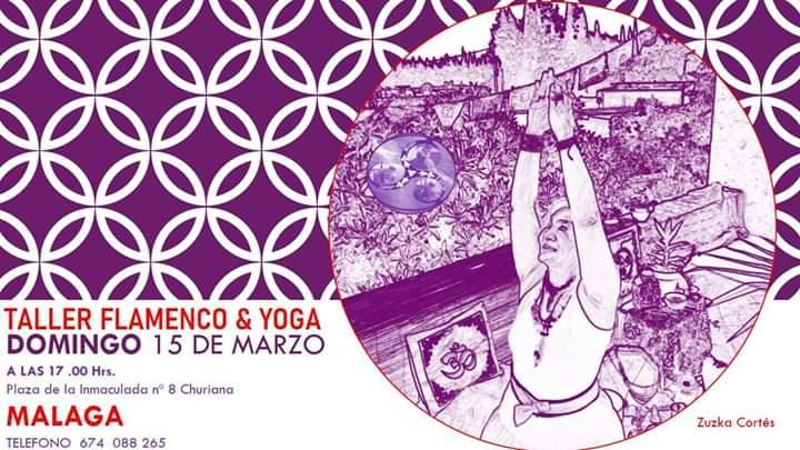 Taller de Flamenco y yoga de Zuzka Cortés