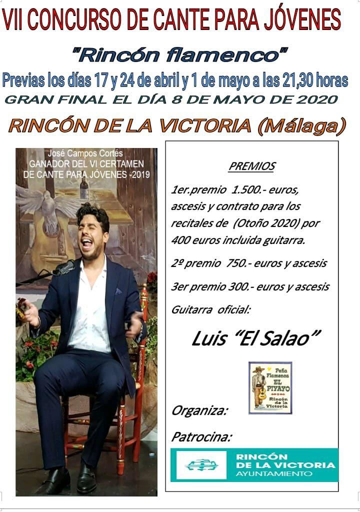 Cartel VII Concurso de Rincón