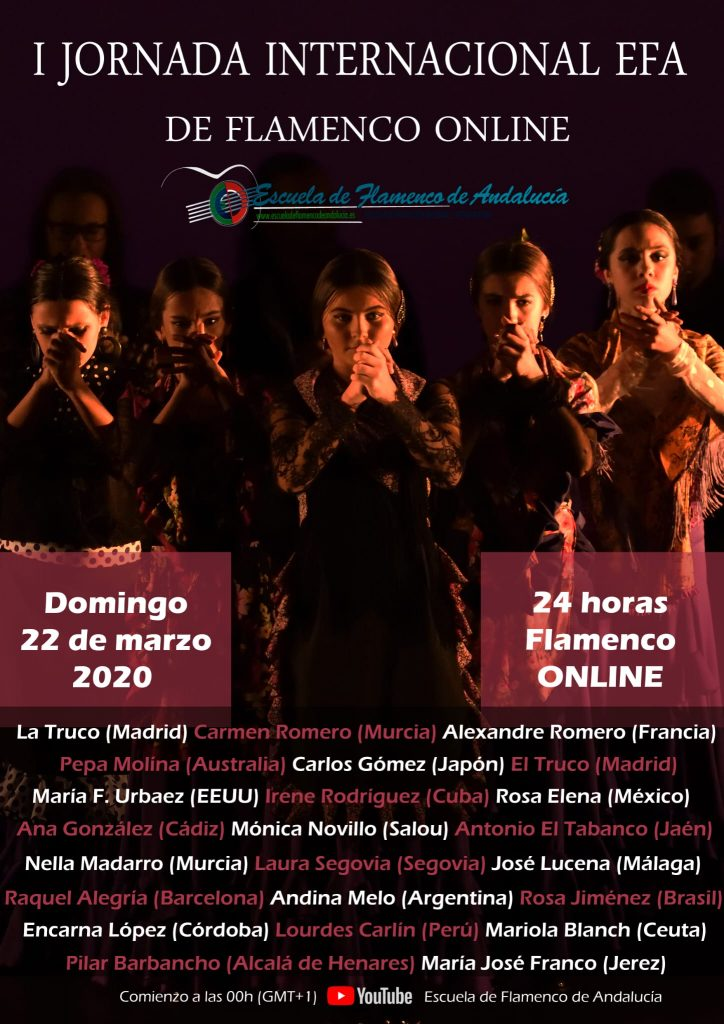 Cartel EFA Flamenco online