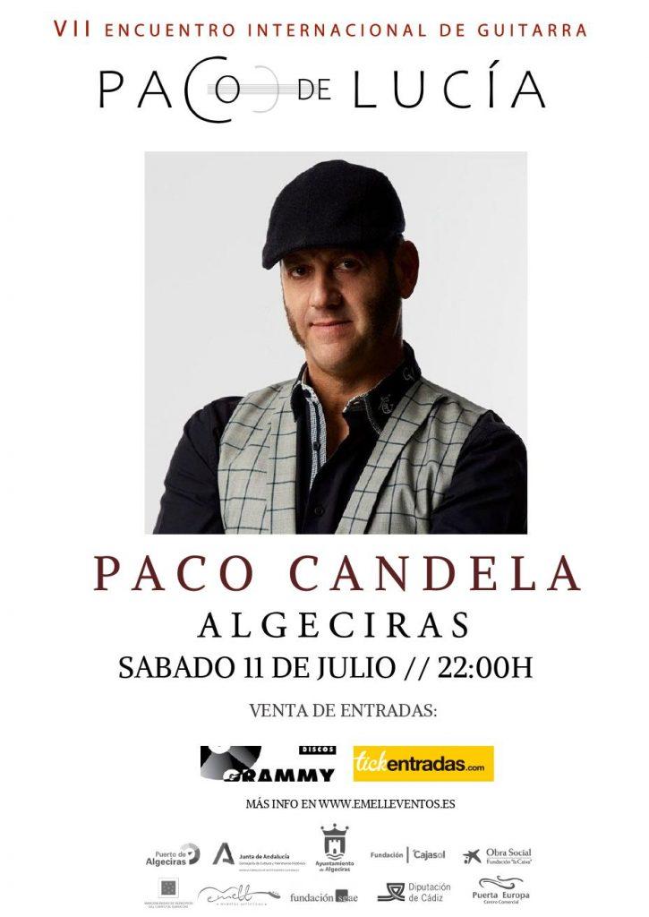 Cartel Paco Candela