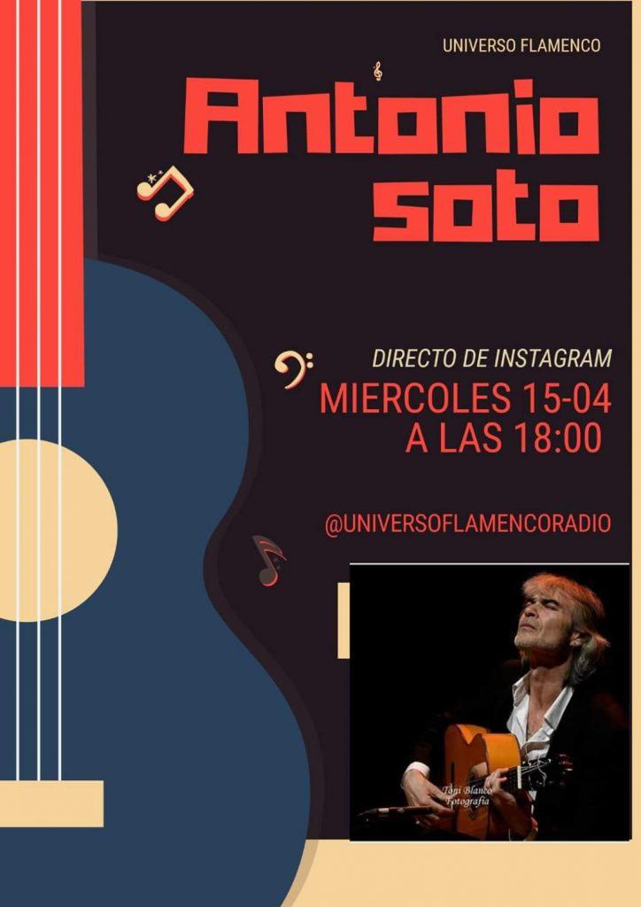 Antonio Soto Universo Flamenco