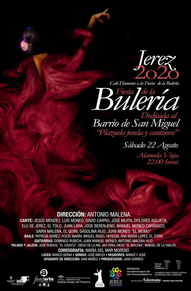 Cartel Fiesta de la Bulería