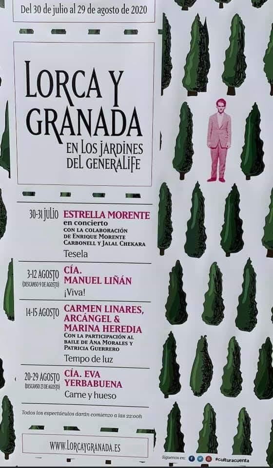 Lorca y Granada Generalife