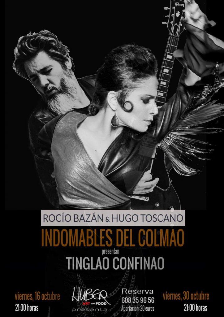 Rocío Bazán y Hugo Toscano