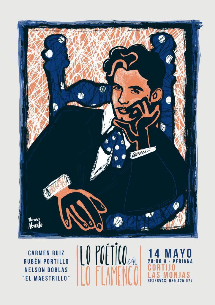 Lo poético con lo flamenco